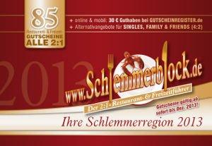 schlemmerblock cover 2013