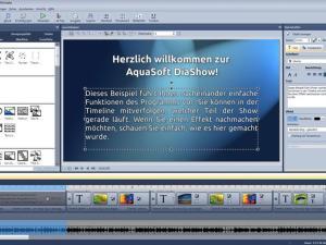 Diashow erstellen mit Aquasoft Diashow 9