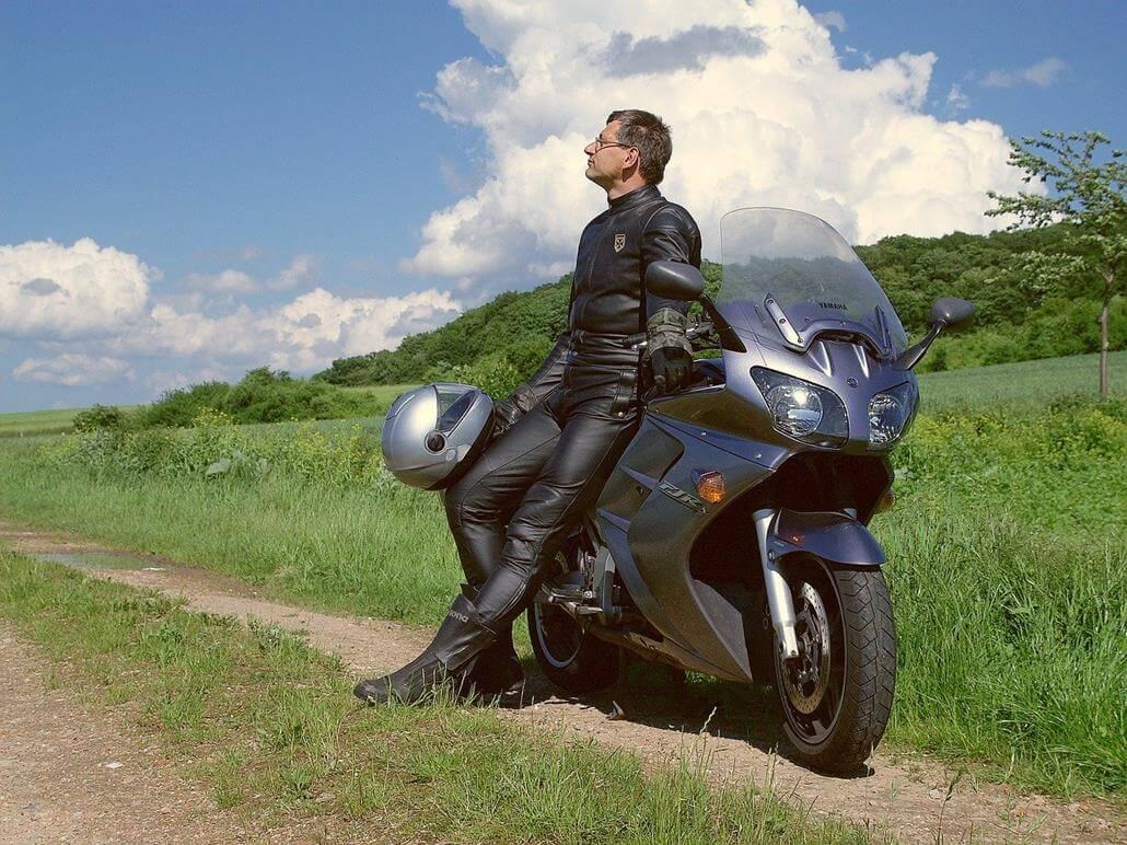 Lederkombi Motorradprotektoren